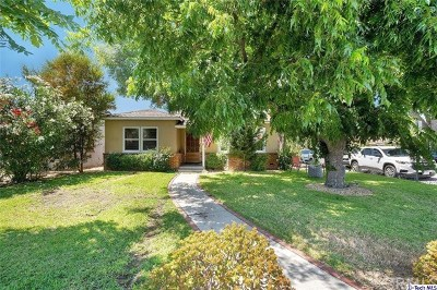 Glendale Single Family Home For Sale: 1330 Truitt Street