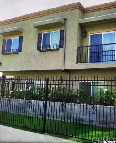 Van Nuys Multi Family Home For Sale: 6358 Hazeltine Avenue