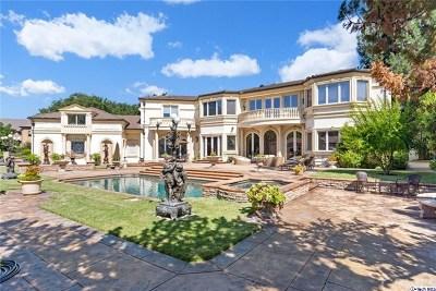 La Canada Flintridge Single Family Home For Sale: 4331 Shepherds Lane