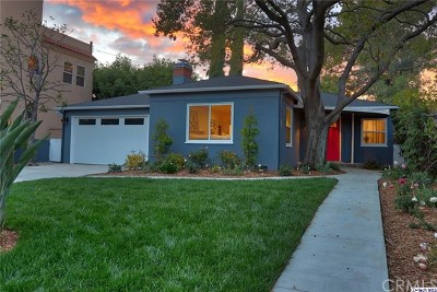 Toluca Lake Single Family Home For Sale: 4415 Strohm Avenue