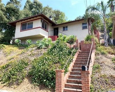 Eagle Rock Single Family Home For Sale: 4938 La Roda Avenue