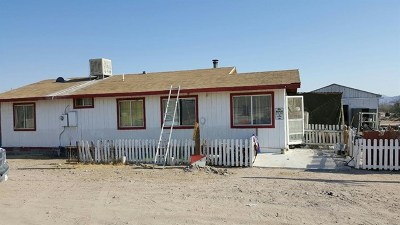 Single Family Home For Sale: 36588 Santa Fe Street