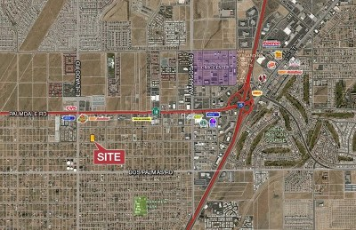 Victorville Residential Lots & Land For Sale: Bonanza Road