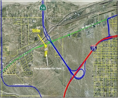 Barstow Residential Lots & Land For Sale: W Main Street