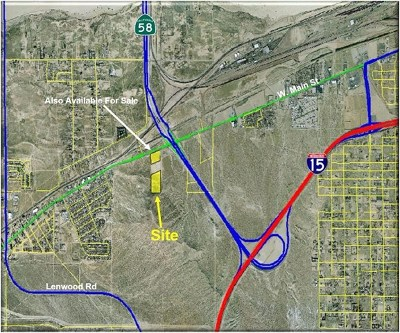 Barstow Residential Lots & Land For Sale: Elks Lane