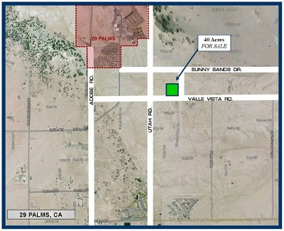 San Bernardino County Residential Lots & Land For Sale: Valle Vista Road