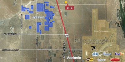 Adelanto Residential Lots & Land For Sale: 395 Highway