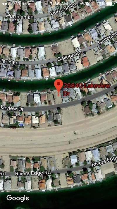 Helendale Residential Lots & Land For Sale: 26840 Lakeview Drive