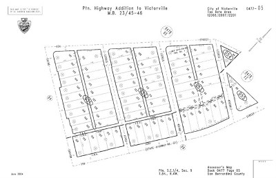 Victorville Residential Lots & Land For Sale: Tracy Street