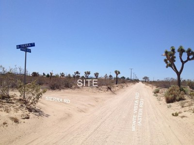 Victorville Residential Lots & Land For Sale: Monte Vista Road