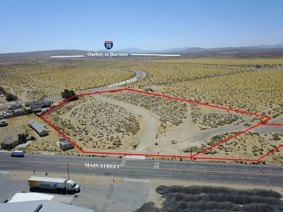 Barstow Residential Lots & Land For Sale: Lenwood Road