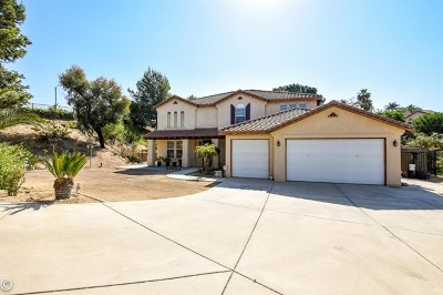 Riverside, Temecula Single Family Home For Sale: 12830 Wildflower Lane