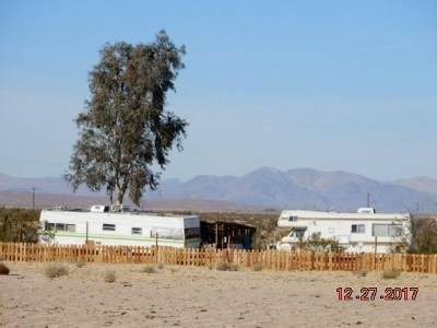 Newberry Springs Single Family Home For Sale: 45464 Bedford Road