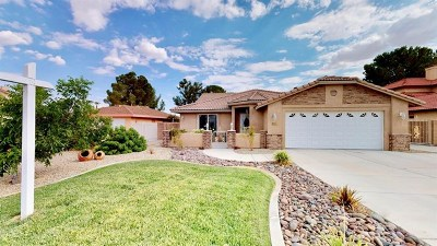 Helendale Single Family Home For Sale: 15213 Tournament Drive