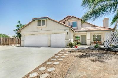 Wildomar Single Family Home For Sale: 33070 Penrose Street