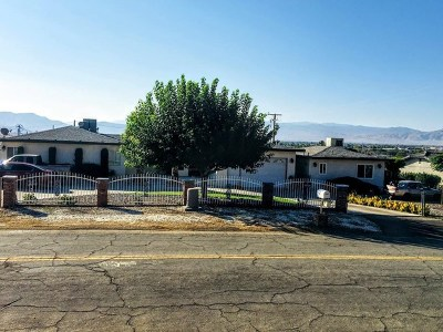 Single Family Home For Sale: 16283 Rancherias Road