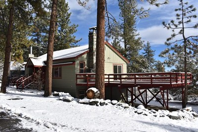 Wrightwood Single Family Home For Sale: 5595 Sycamore Street