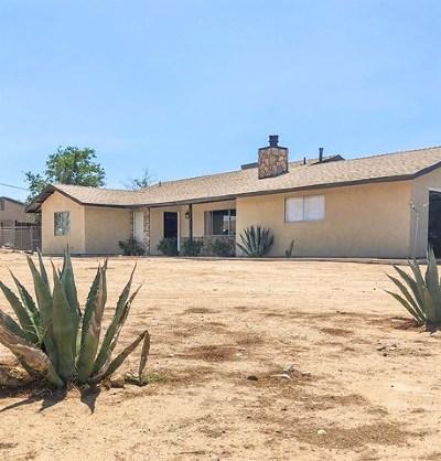 Victorville Single Family Home Active Under Contract: 12534 Sunny Vista Avenue