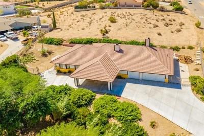 Hesperia Single Family Home For Sale: 7790 Calpella Avenue
