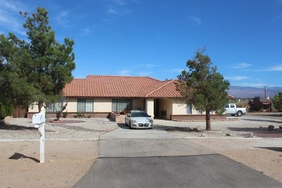 Apple Valley Single Family Home For Sale: 16339 Rancherias Road