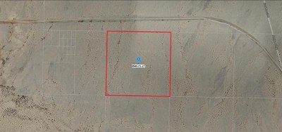 Newberry Springs Residential Lots & Land For Sale: Alvord Mountain Road