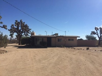 Victorville Single Family Home Active Under Contract: 11917 Anaconda Road