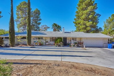 Apple Valley Single Family Home For Sale: 15700 Rimrock Road