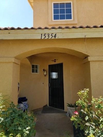 Adelanto Single Family Home For Sale: 15354 Pearmain Street