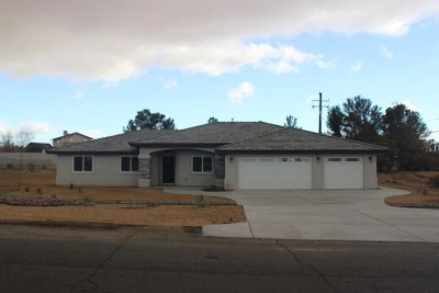 Hesperia Single Family Home For Sale: 7598 Glider Avenue