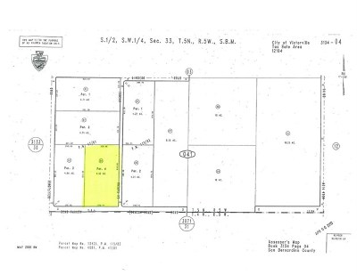 Victorville Residential Lots & Land For Sale: 0 Bear Valley Rd And La Cedena Road