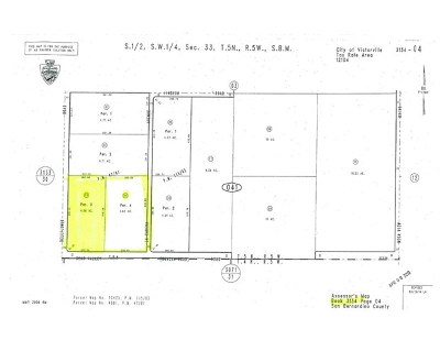 Victorville Residential Lots & Land For Sale: 0 Bear Valley And Bellflower Road