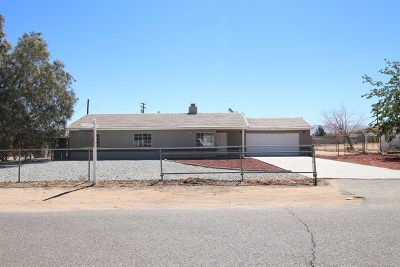 Apple Valley Single Family Home For Sale: 13185 Yakima Road