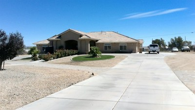 Hesperia Single Family Home For Sale: 11595 Maple Avenue