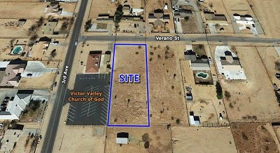 Hesperia Residential Lots & Land For Sale: Verano Street
