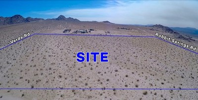 Lucerne Valley Residential Lots & Land For Sale: Rabbit Springs Road