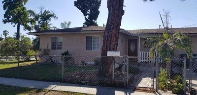 Baldwin Park Single Family Home For Sale: 4605 Harlan Avenue