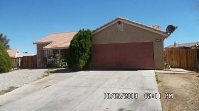 Adelanto Single Family Home For Sale: 14617 Alan Street