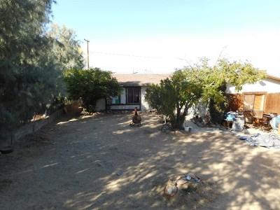 Joshua Tree Single Family Home For Sale: 61610 Sunburst Drive