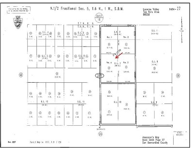 Lucerne Valley Residential Lots & Land For Sale: Sussex Avenue