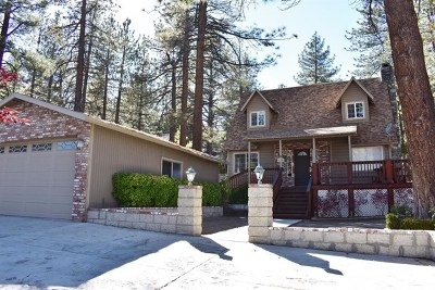 Wrightwood Single Family Home For Sale: 5784 Victorville Street
