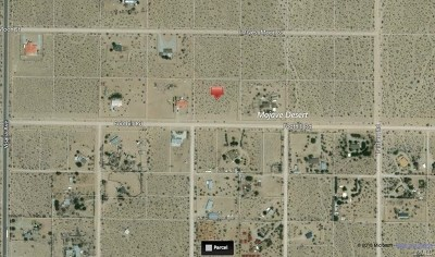Lucerne Valley Residential Lots & Land For Sale: Foothill Road