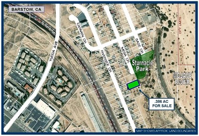 Barstow Residential Lots & Land For Sale: Mesa Drive