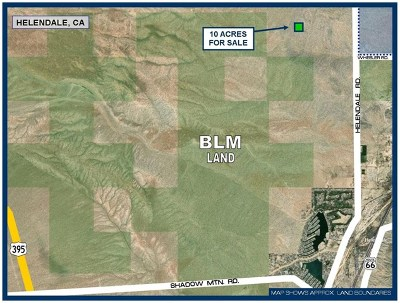 Helendale Residential Lots & Land For Sale: Off Helendale Road