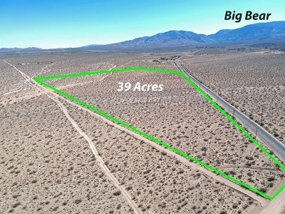 San Bernardino County Residential Lots & Land For Sale: Highway18