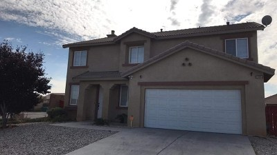Victorville Single Family Home For Sale: 12891 Comet Drive