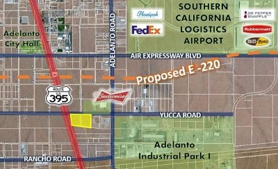 Adelanto Residential Lots & Land For Sale: Highway 395