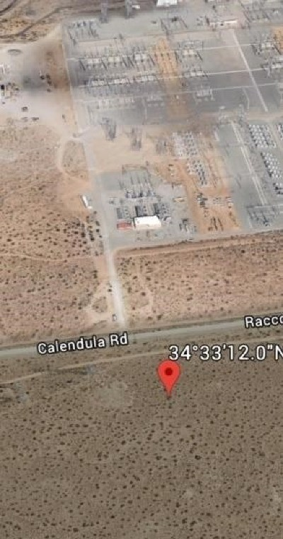 Adelanto Residential Lots & Land For Sale: Raccoon Avenue