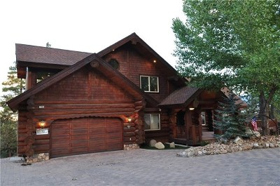 Big Bear Single Family Home For Sale: 1108 Mound Street