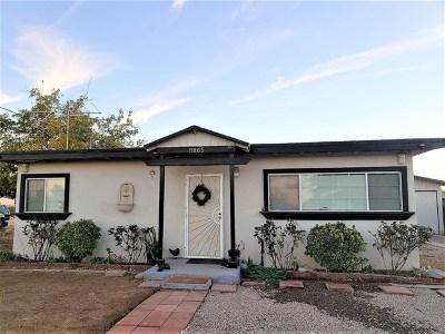 Adelanto Single Family Home For Sale: 11865 Lee Avenue