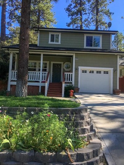 Wrightwood Single Family Home For Sale: 1639 Irene Road